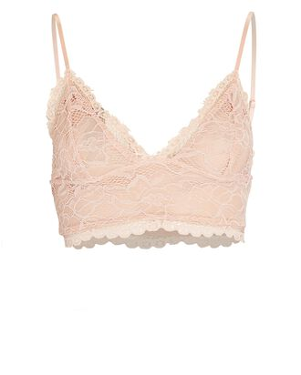 Polly Recycled Lace Bralette, PINK, hi-res
