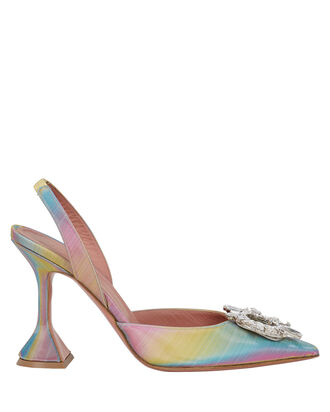 Begum Rainbow Slingback Pumps, RAINBOW, hi-res