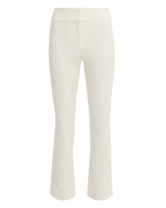 Rumi Cropped Pants, WHITE, hi-res