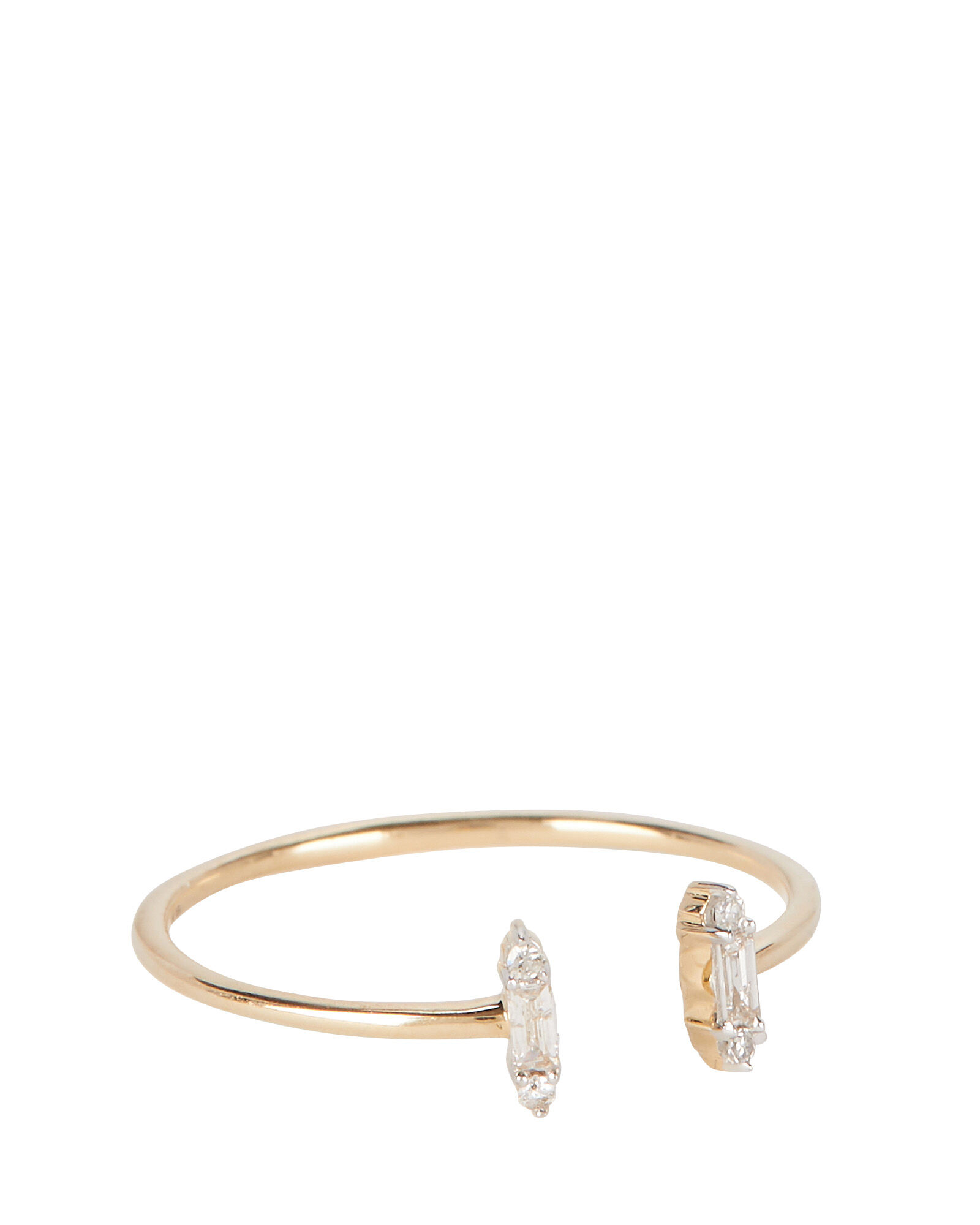 Open Stack Baguette Ring, GOLD, hi-res