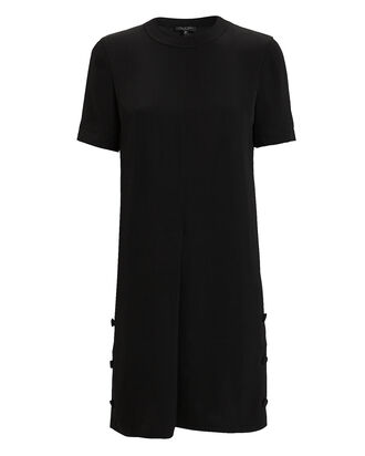 Aiden T-Shirt Dress, BLACK, hi-res