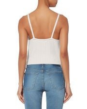 Emery Knit Top, WHITE, hi-res