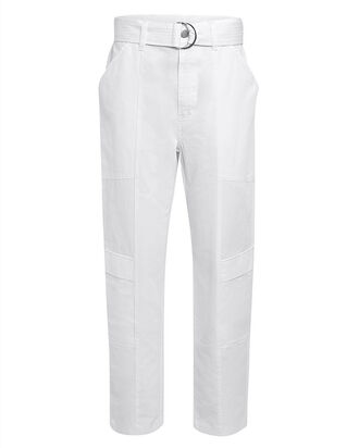 Athena Surplus Cropped Pants, WHITE, hi-res