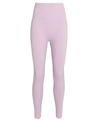 Seamless High-Rise Leggings, PURPLE-LT, hi-res