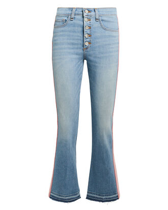 Carolyn Pink Tuxedo Stripe Jeans, LIGHT BLUE DENIM, hi-res