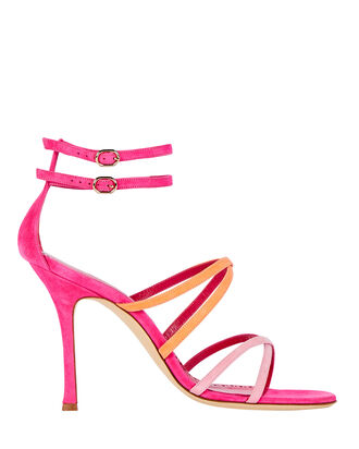 Triplexa 105 Strappy Sandals, PINK, hi-res
