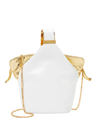 Kit Clutch Bag, WHITE, hi-res
