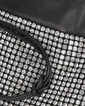 Ryan Mini Rhinestone Dust Bag, BLACK, hi-res
