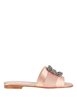 Martamod Crystal Slide Sandals, BLUSH, hi-res