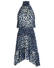 Cody Silk Leopard Mini Dress, , hi-res