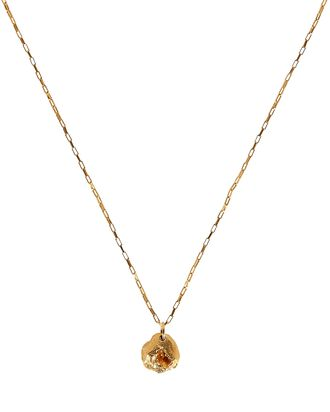 The Crescendo Pendant Necklace, GOLD, hi-res