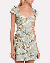 Gigi Camo-Print Mini Dress, MULTI, hi-res