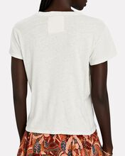 The Sinful Cotton-Linen T-Shirt, IVORY, hi-res