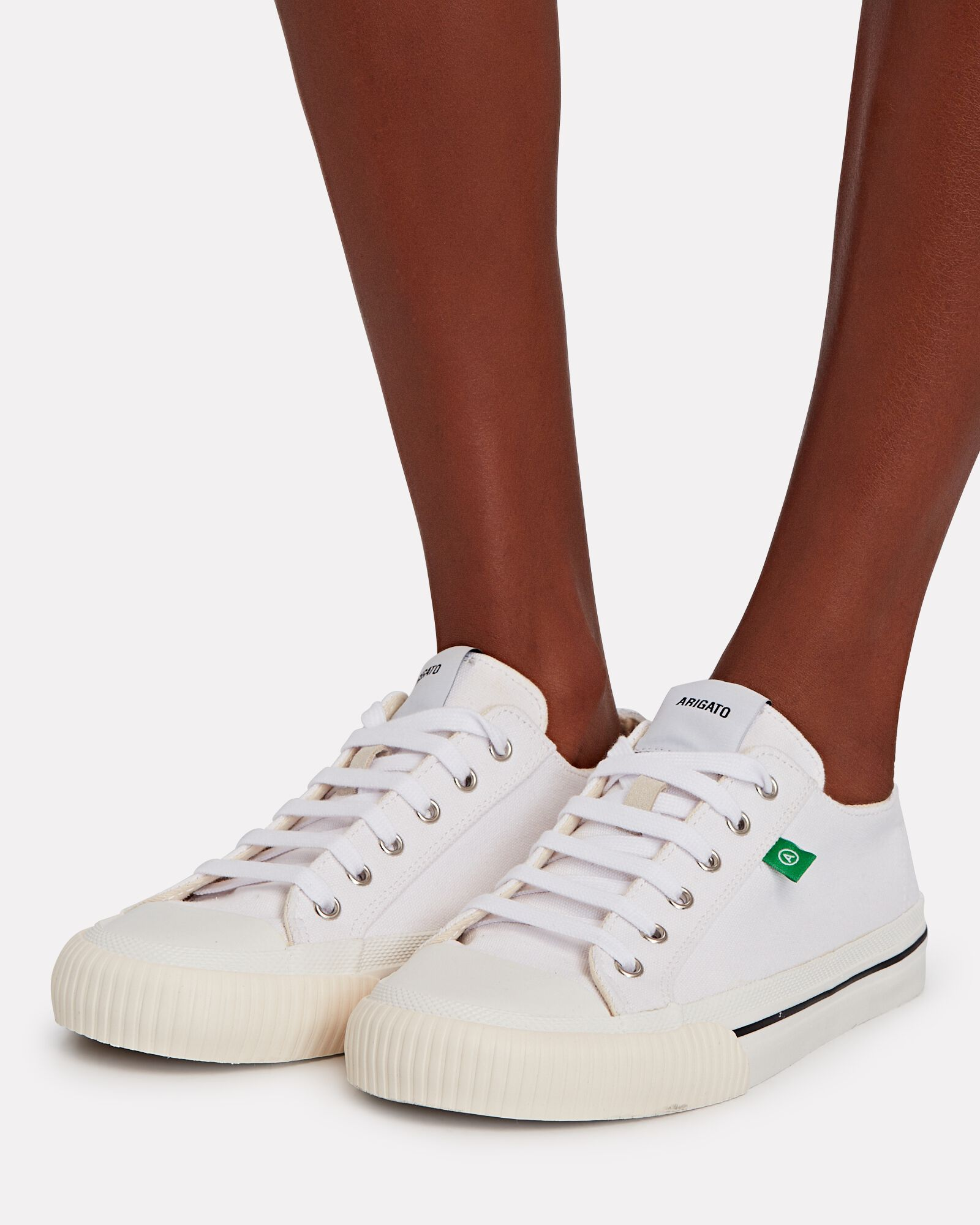 Midnight Canvas Low-Top Sneakers, WHITE, hi-res