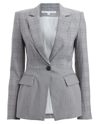 Suri Plaid Dickey Blazer, MULTI, hi-res