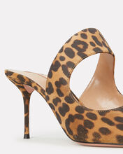 Forever Leopard Suede Mules, BROWN, hi-res