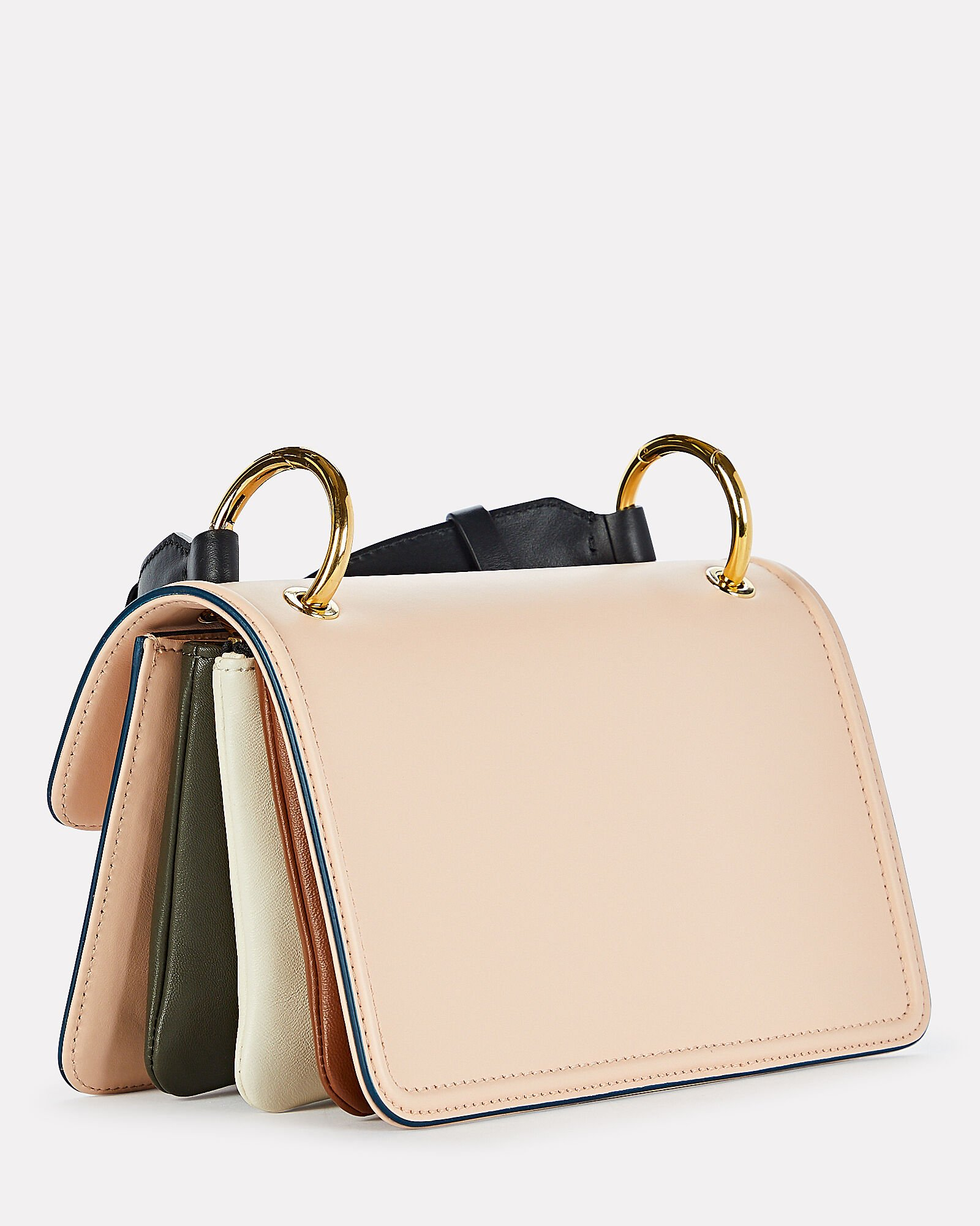 New Beat Colorblocked Bag, CREAM, hi-res