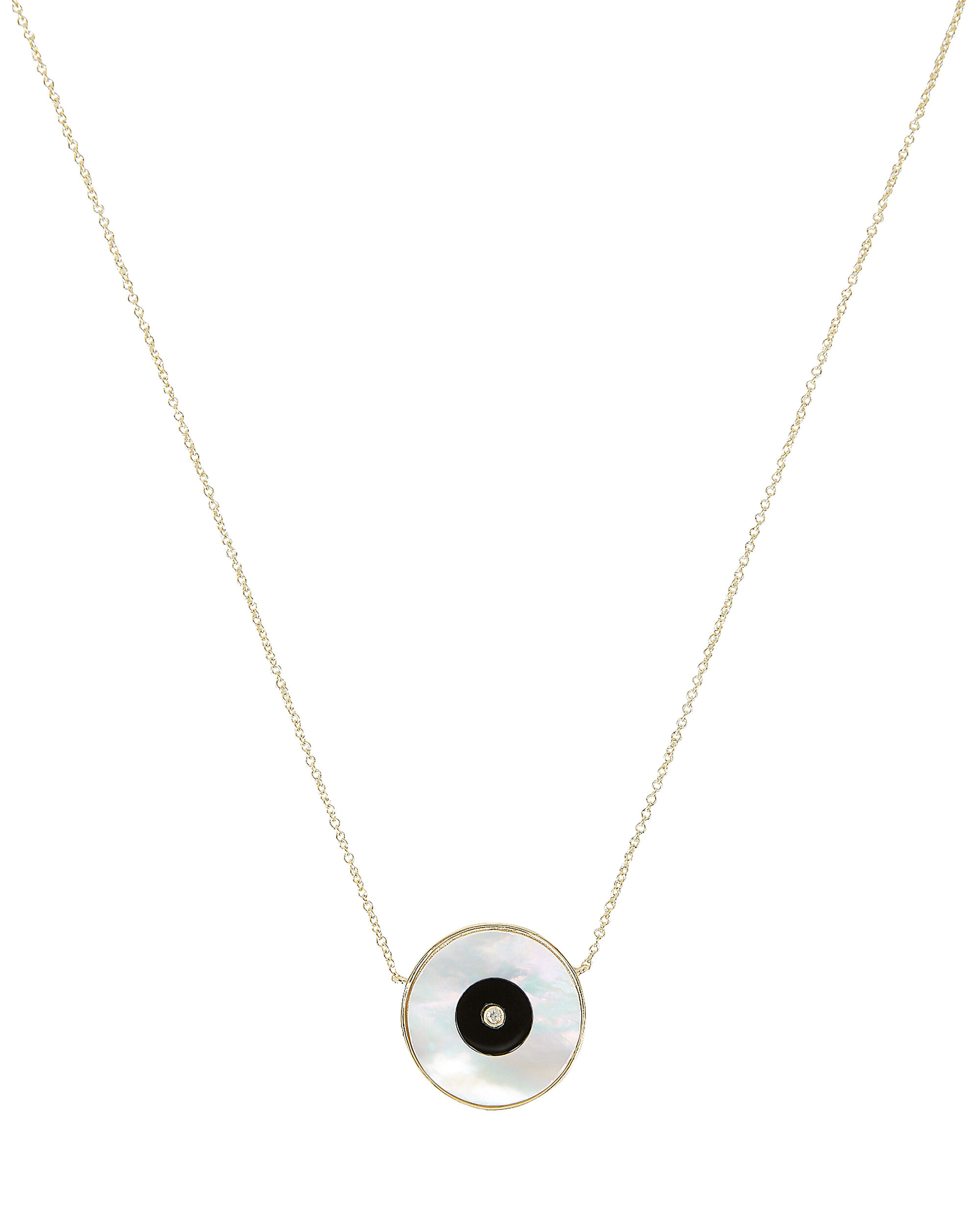 Danai Eye Necklace, GOLD/PEARL, hi-res