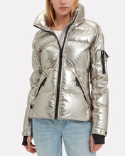 Freestyle Pyrite Puffer Jacket, GOLD, hi-res