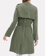 Elise Belted Trench, OLIVE/ARMY, hi-res