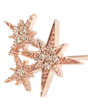 Triple Starburst Diamond Stud, GOLD, hi-res