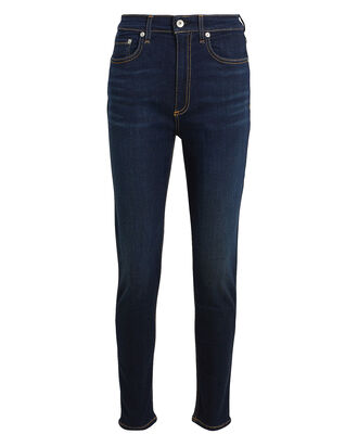 Nina High-Rise Skinny Jeans, DARK INDIGO DENIM, hi-res