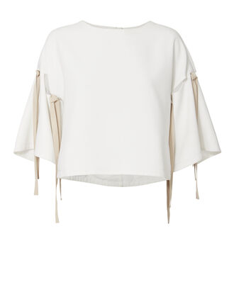 Fallon Cropped Top, IVORY, hi-res