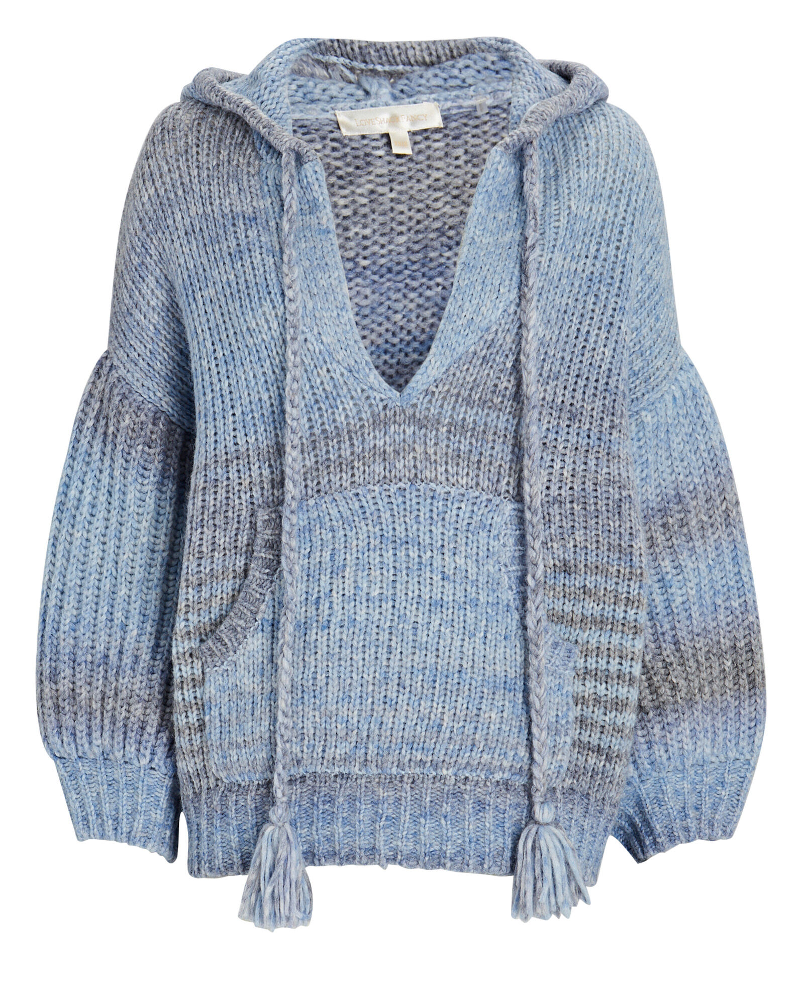 Remington Ombré Hooded Sweater, BLUE-MED, hi-res