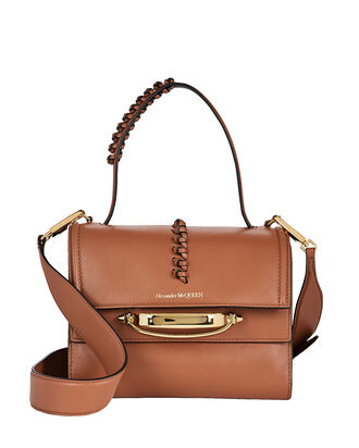 The Story Leather Shoulder Bag, BROWN, hi-res