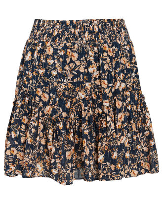 Yvonne Floral Mini Skirt, MULTI, hi-res
