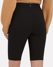 Anson High-Waist Biker Shorts, BLACK, hi-res