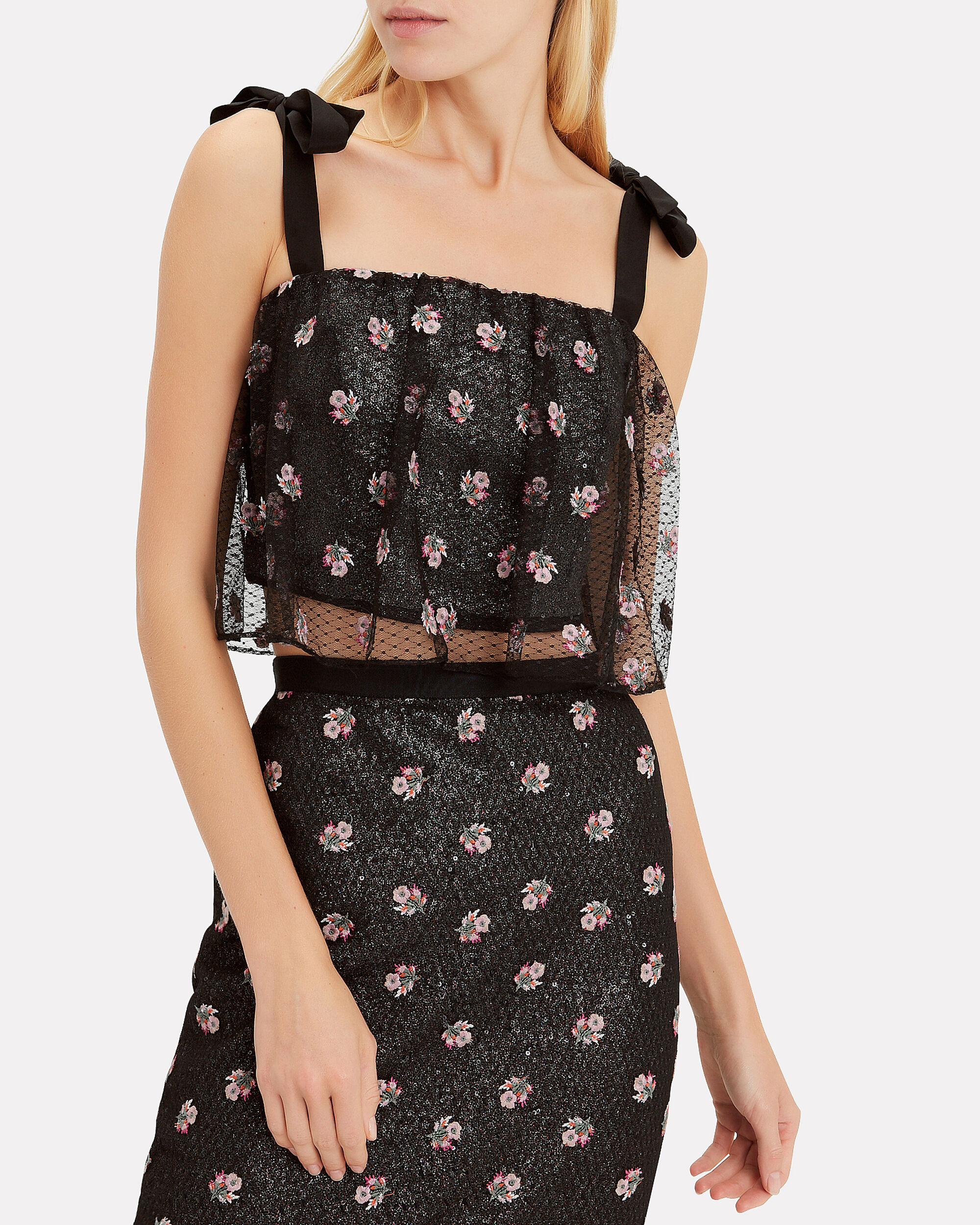 Jemi Top, BLACK/FLORAL, hi-res