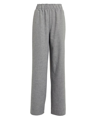 ShadiGZ Melange Wide Leg Pants, GREY, hi-res