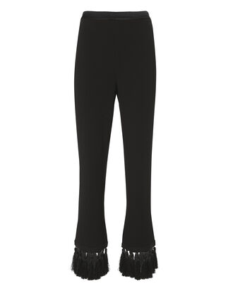 Tash Tasseled Pants, BLACK, hi-res