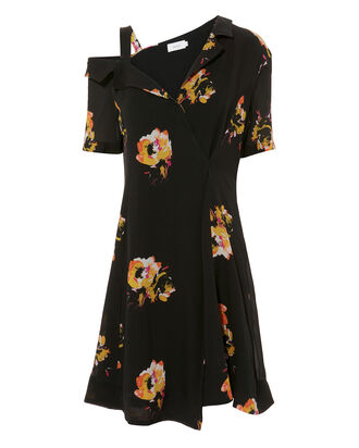 Lucia Off The Shoulder Dress, MULTI, hi-res