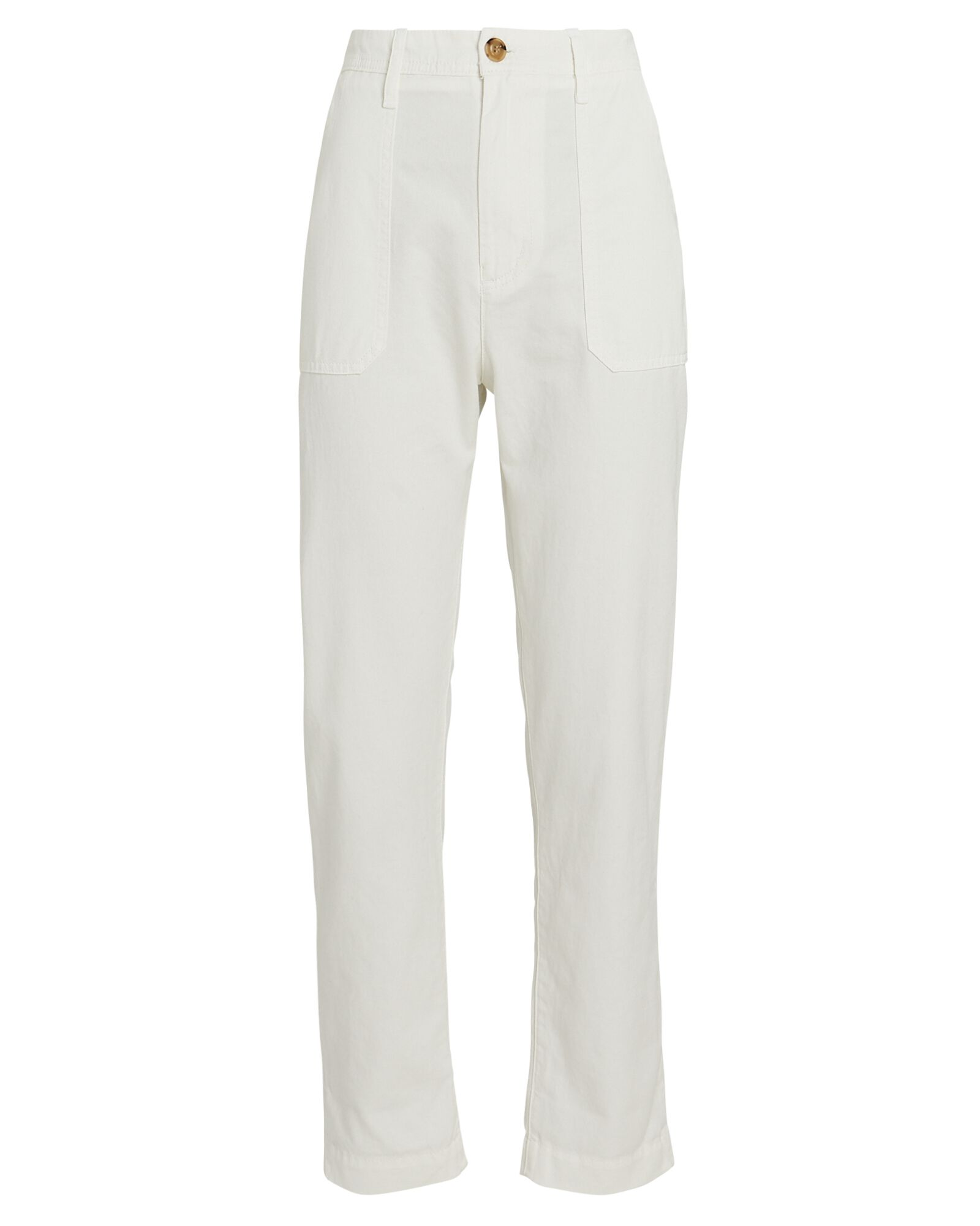 Tucker Cotton Twill Pants, WHITE, hi-res