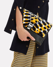 Tie-Dyed Lunch Small Crossbody Bag, BLACK/YELLOW, hi-res