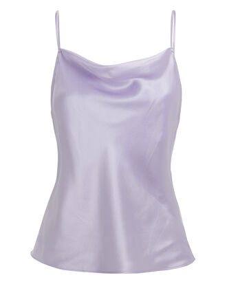 Light Purple Cowl Neck Cami, PURPLE, hi-res