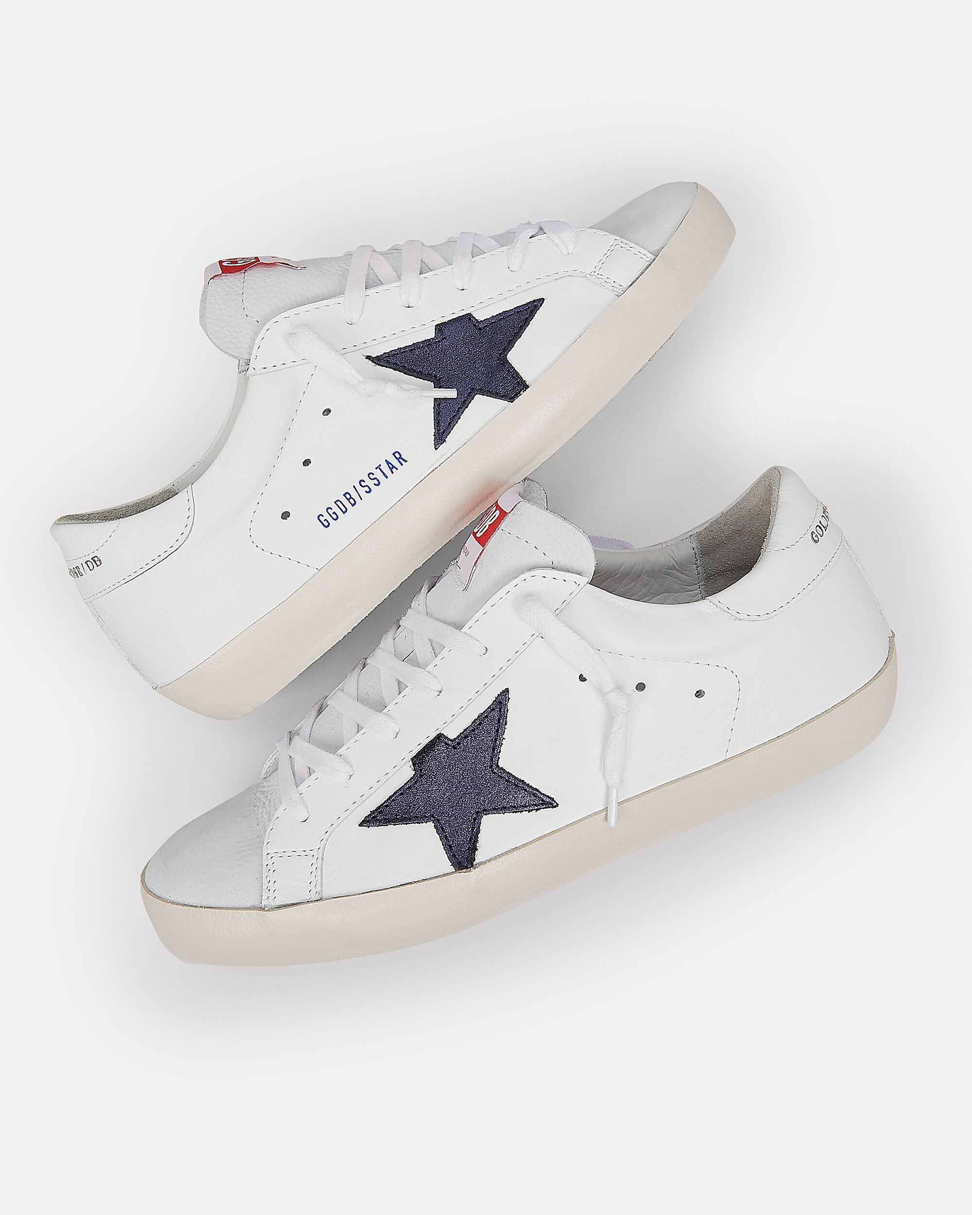 Superstar Navy Star Low-Top Sneakers, WHITE/RED/NAVY, hi-res