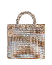 Teodora Crystal Mini Tote Bag, , hi-res