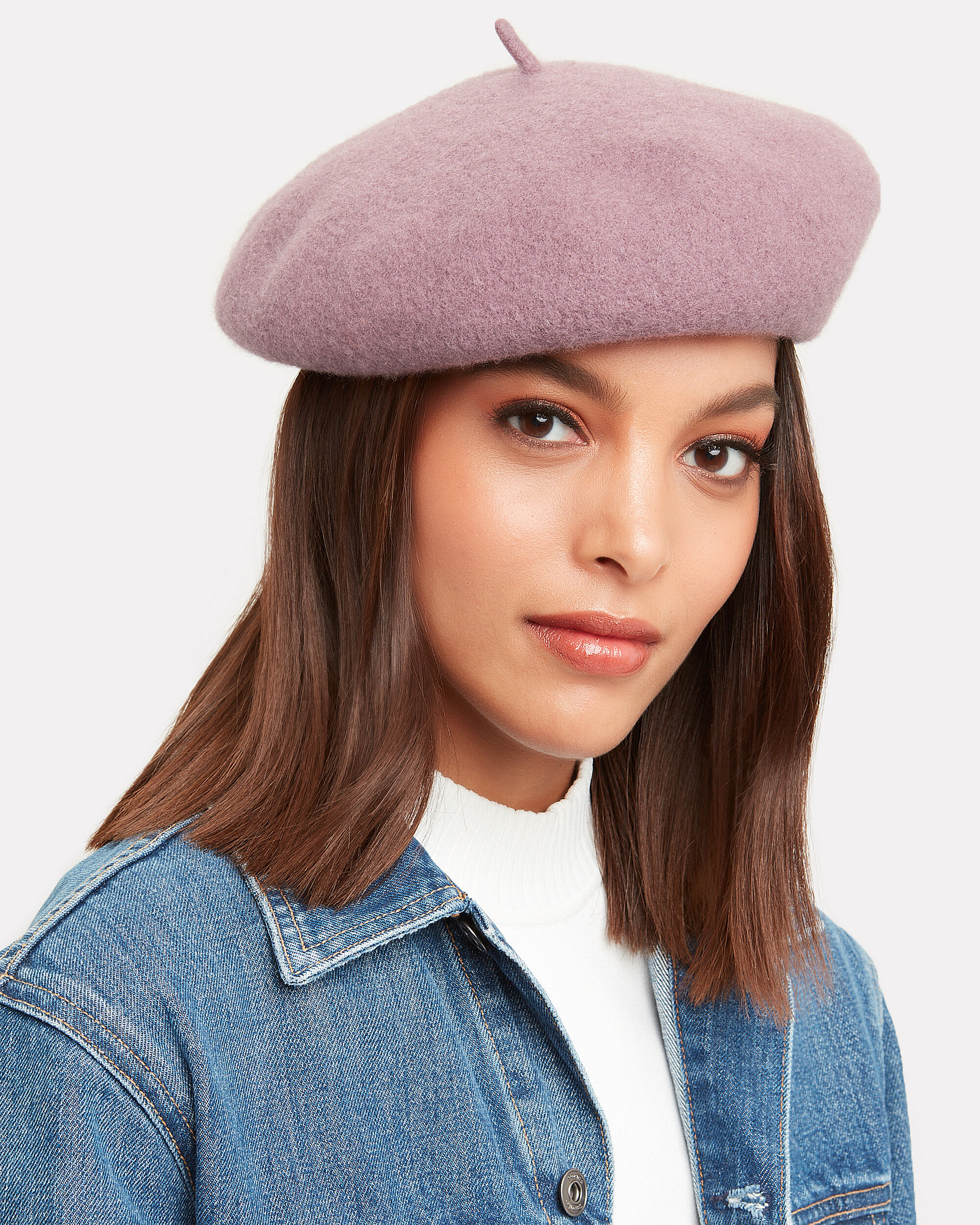 Pink Beret, ROSE, hi-res