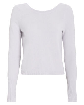Riva Cashmere Sweater, PURPLE-LT, hi-res
