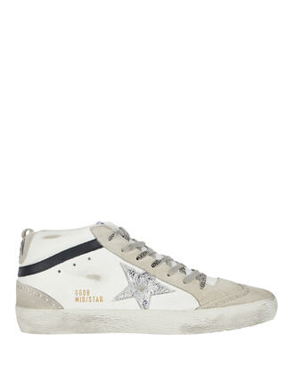 Mid Star Leather Sneakers, , hi-res