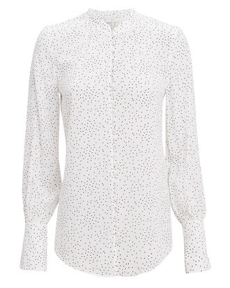 Tariana Button Front Blouse, IVORY, hi-res