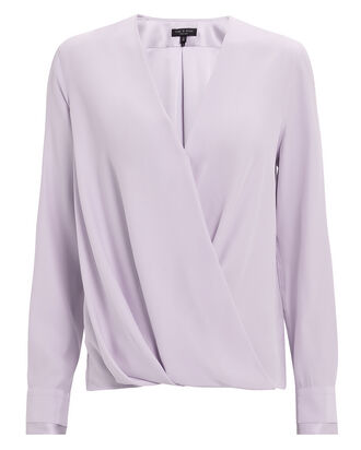 Victor Lilac Blouse, PURPLE-LT, hi-res
