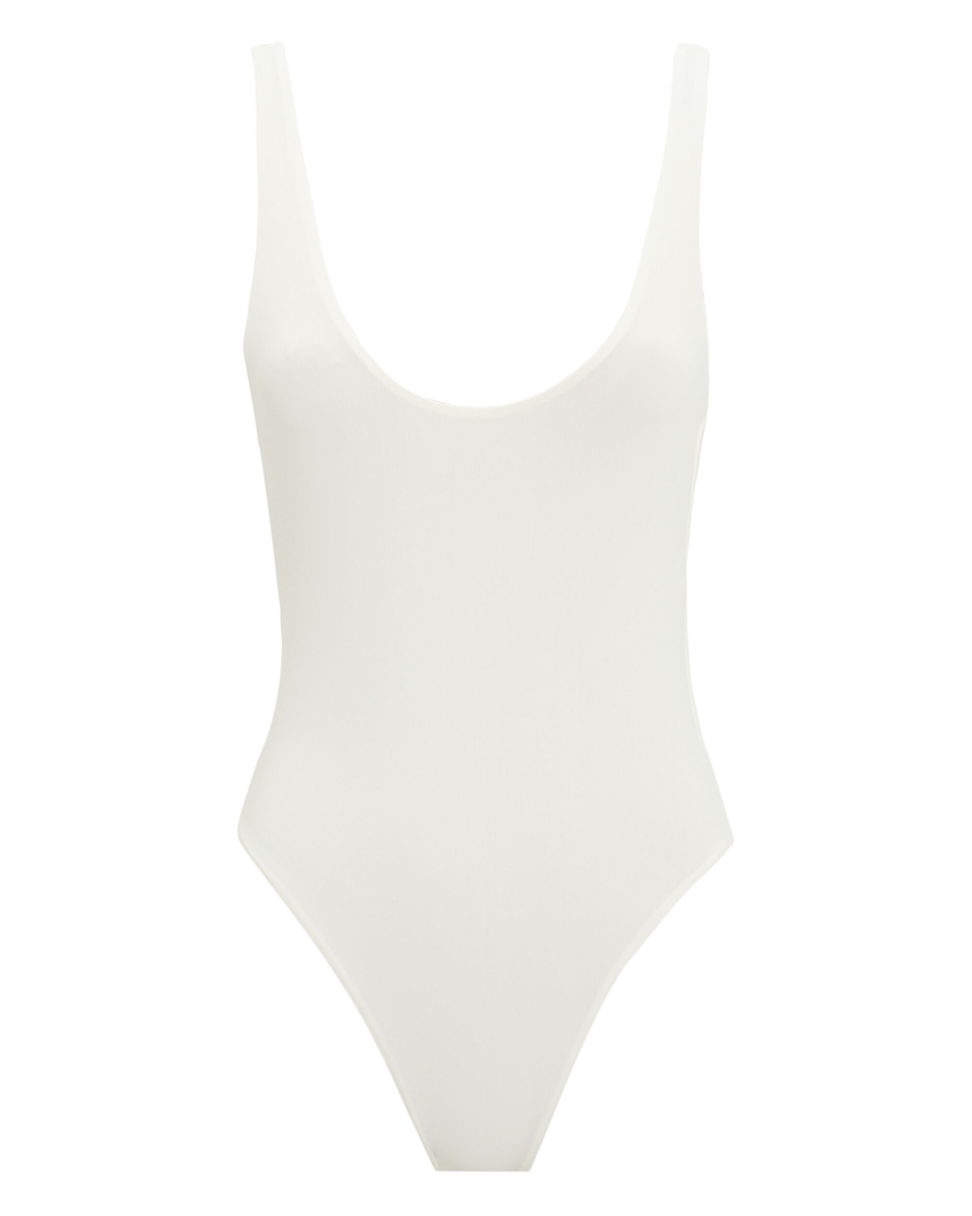 Caravia White One Piece Swimsuit, WHITE/RAINBOW, hi-res