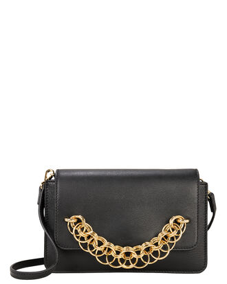 Drew Bijoux Flap Chain Bag, BLACK, hi-res