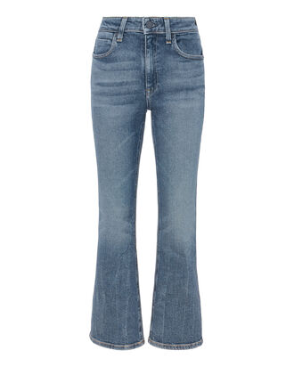 Grind Flex Cropped Flare Jeans, DENIM, hi-res