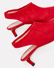 Alissa Suede Red Pumps, RED, hi-res