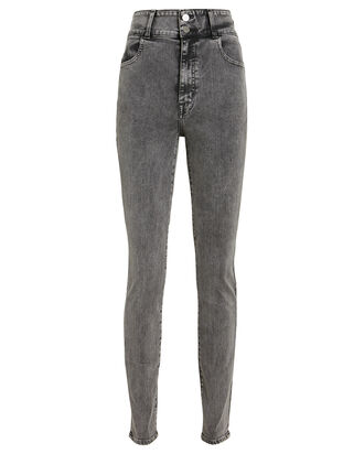 Elsa Saturday Skinny Jeans, BLACK DENIM, hi-res